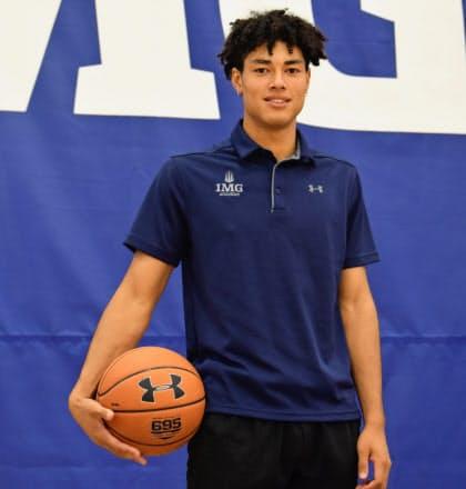 「(八村)塁さんのように日本を背負う選手になりたい」と田中