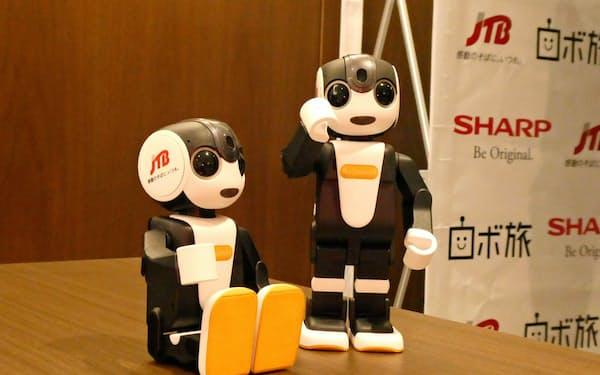 修学旅行で、観光名所の説明などをロボットが担う