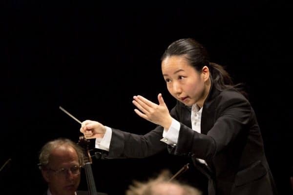 ブザンソン国際指揮者コンクールで優勝した沖澤=同コンクール事務局提供