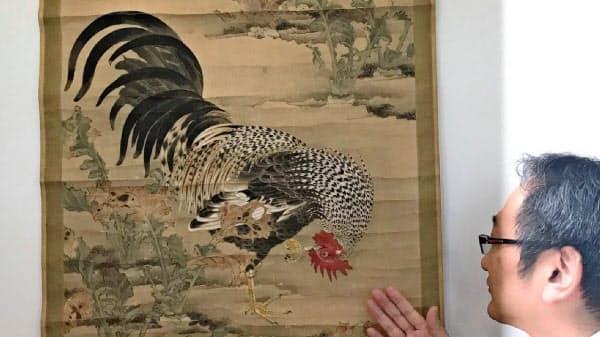 伊藤若冲が30代に描いたとみられる作品
