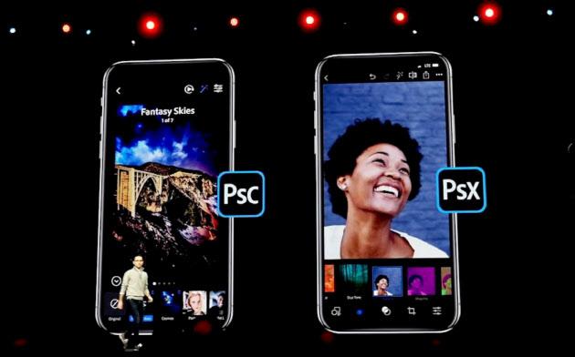 米アドビは若者向けのスマホアプリとして「フォトショップカメラ」を発表した