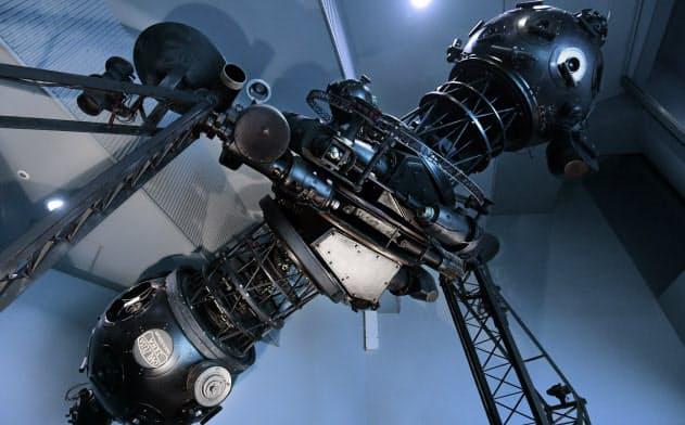 アジアで初めて導入されたカール・ツァイス2型プラネタリウム(大阪市北区の大阪市立科学館)