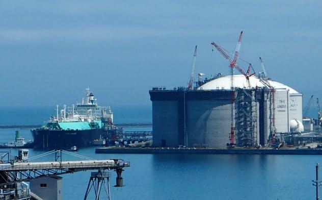 新制度を活用した場合に北海道ガスから供給を受けられるガスは一般家庭換算で約1500世帯にとどまる(同社の石狩LNG基地)