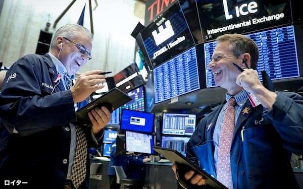 最高値圏に喜ぶ市場だが…(ニューヨーク証券取引所)=ロイター