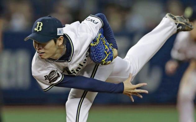 山岡は貯金を作りローテーション投手の役目を果たした