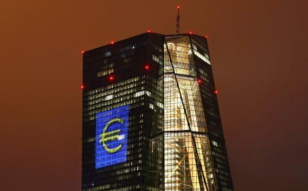 欧州中央銀行(ECB)などはEU共通の預金者保護制度の創設を求めてきた(フランクフルトにあるECBの本部)=ロイター