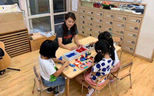無償化は子育て世帯の経済的負担を減らす(東京都港区の認可保育所)