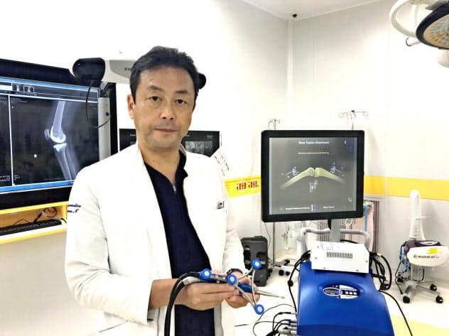 英社の手術支援ロボットを導入した釧路三慈会病院の西池修副院長