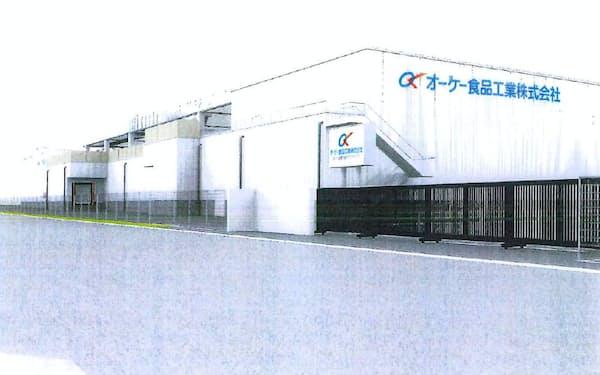 新工場では自動化設備を導入し、生産効率を高める(完成イメージ)