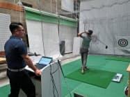 ショットを分析し最適なゴルフクラブを提案する「GDO マッチングラボ」