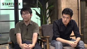 GITAIの古田悠貴氏(左)とACESの田村浩一郎社長