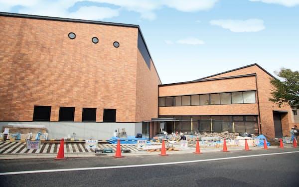 4月の開館に向け準備中の長谷川町子記念館(東京都世田谷区)