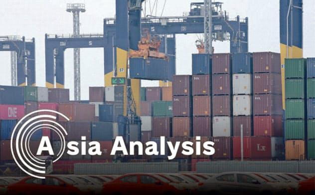 タイ最大の輸出港・レムチャバン港の拡張は「東部経済回廊(EEC)」の要となる=三村幸作撮影