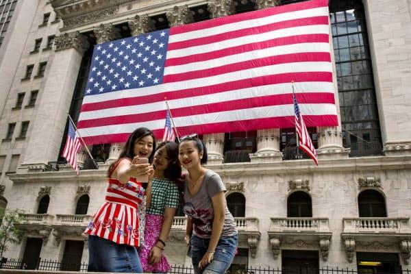 ニューヨーク市では中国人観光客による消費額が1割減った=ロイター