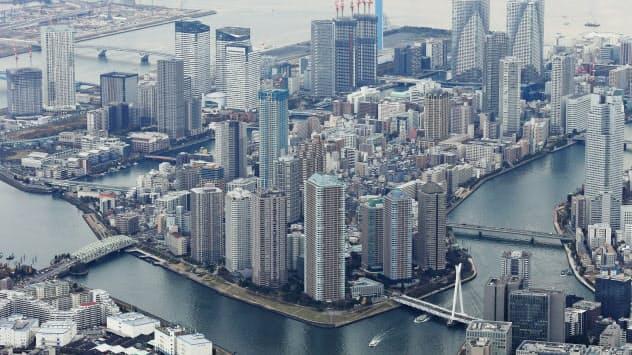 東京・湾岸エリアの高層マンション