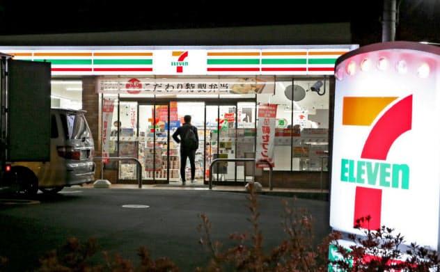 セブン―イレブン・ジャパンは11月から8店舗が本格的に時短営業を始めた