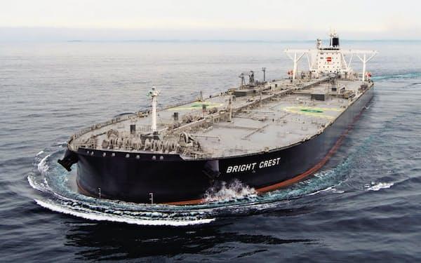 三井E&Sは三井物産の造船部門として1917年に誕生した(三井E&Sが建造した大型タンカー)