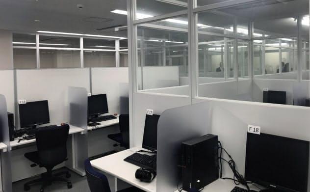 日本英語検定協会が2020年度に向けて準備していたテストセンター(東京都渋谷区)