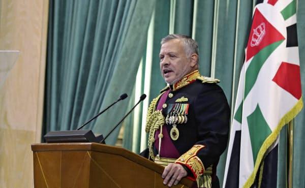 ヨルダンのアブドラ国王=AP
