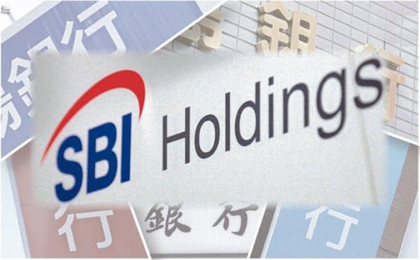 SBIホールディングスは「地銀連合構想」を掲げ、既に島根銀行や福島銀行、筑邦銀行への出資を決めた
