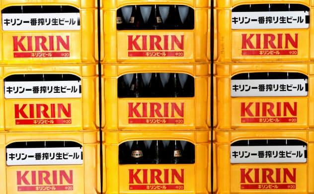 キリンは物言う株主から、ビール事業に専念するよう要求されている=ロイター