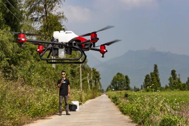 極飛科技が運営するドローンは4万2000台を超える(同社提供)
