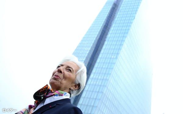 ラガルド新総裁の就任を捉え、ECBの政策決定方法を見直す動きが広がっている=ロイター