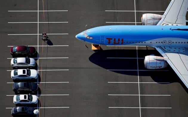 TUIはボーイング737MAXを来年から運航再開することを明言した=ロイター