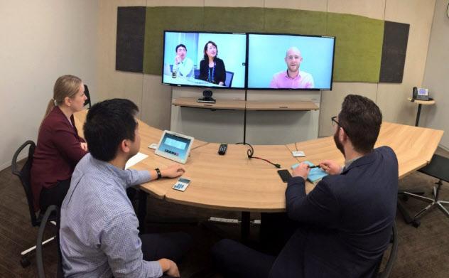 サントリーホールディングスは高性能テレビ会議システムで業務を効率化し、社外の「知」と出合う時間を創出