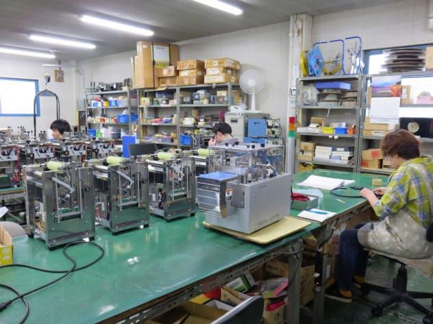造研は製品販売先に納期の延期を依頼し、残業削減につなげた(東京都八王子市)