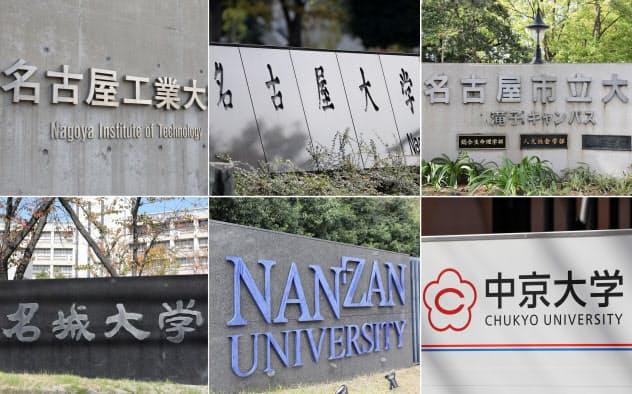 名古屋市の有力6大学が連携する