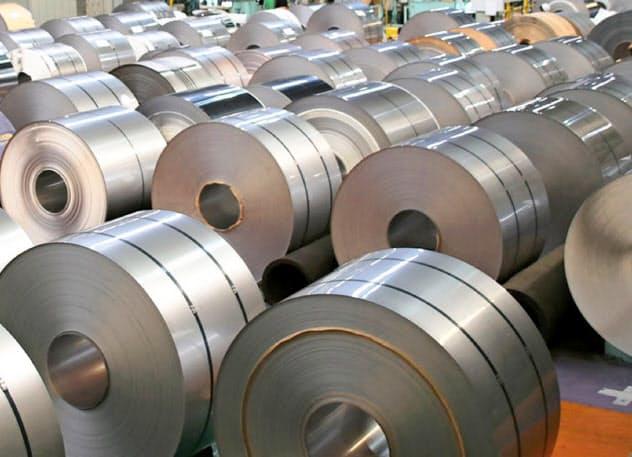 ニッケルはステンレス鋼板などの生産に欠かせない