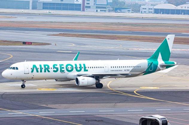 エアソウルは日本便の多くを休止している=同社提供