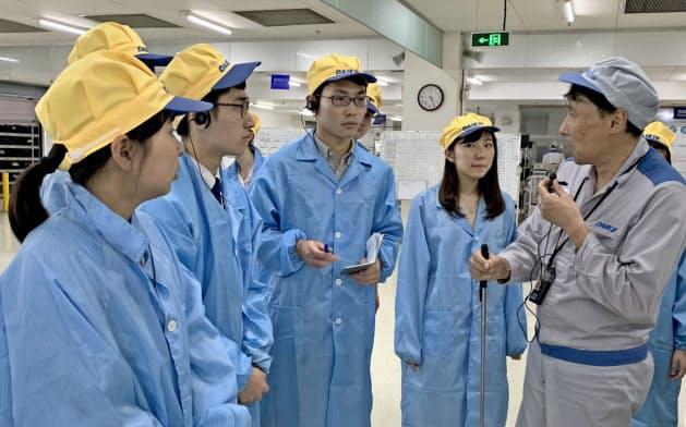 中国では蘇州の工場も訪れた