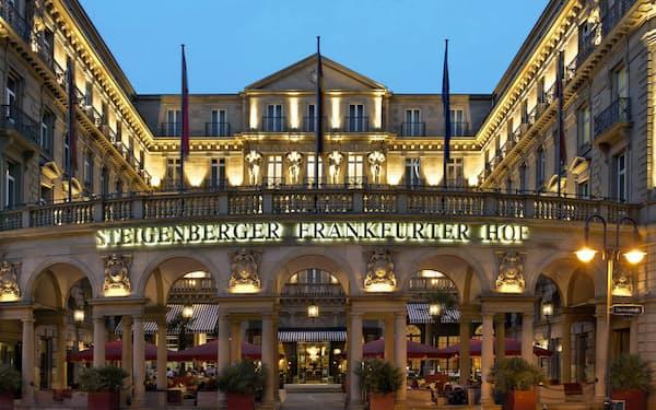 シュタイゲンベルガーホテルは89年の歴史を持つ=同社提供