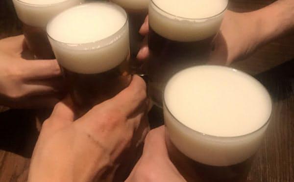 少量のアルコールで、がんのリスクが高まるとの研究は最近、海外でも報告されているが、日本人を大規模に調べた研究は初めて