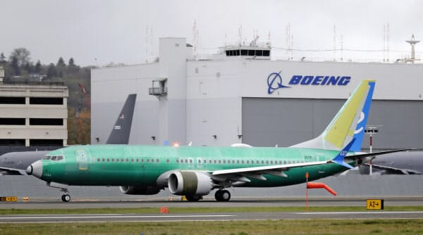 「737MAX」は3月から運航停止が続いている=AP