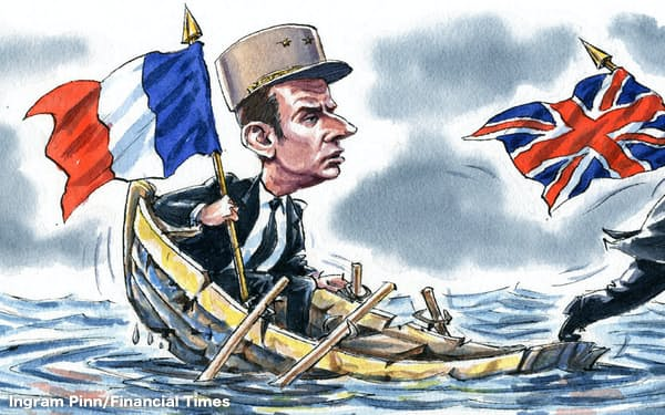 イラスト Ingram Pinn/Financial Times
