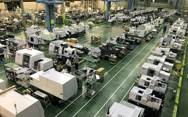工作機械の市況の低迷が長期化している