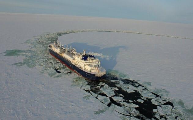 商船三井は砕氷LNG船で北極圏からアジアと欧州に積み荷を届ける