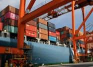 米中摩擦で輸送需要が鈍化している