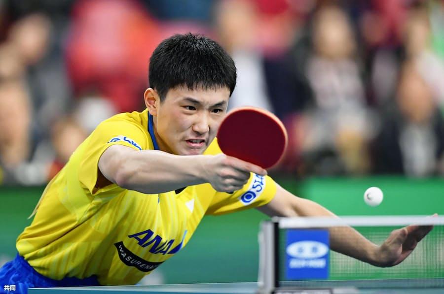 張本、卓球男子最年少で五輪に 強い意志支えに成長: 日本経済新聞