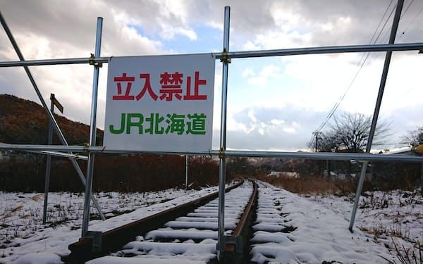 北海道では鉄路の廃線が相次いでいる