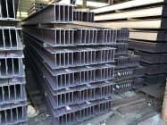 H形鋼の在庫水準が下がってきた(千葉県内の鉄鋼団地)