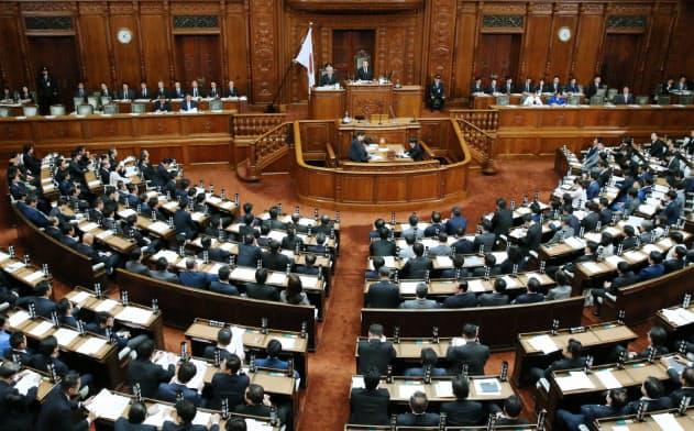 会社法改正案が審議入りした12日の衆院本会議