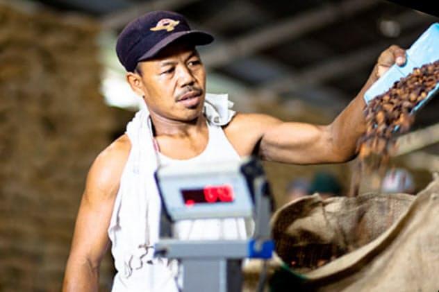 オラムは環境破壊の恐れが少ないナッツやコーヒー事業を強化する