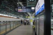 富山県はインバウンドをどう増やすかが課題だ(富山駅の新幹線ホーム)