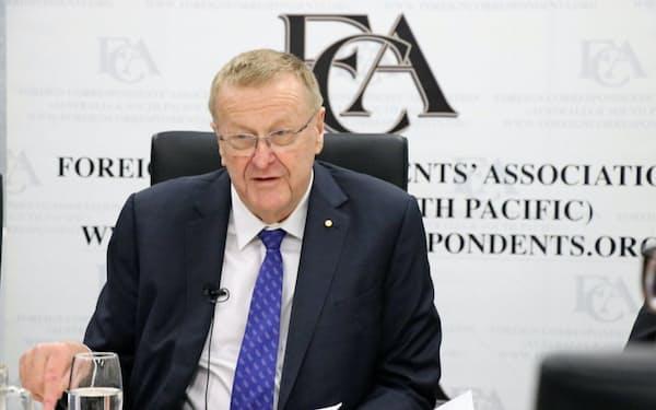 IOCのコーツ調整委員長(2019年11月)