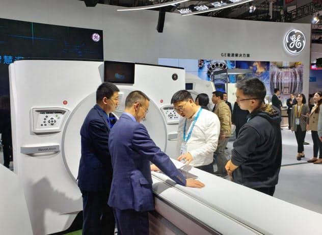 中国輸入博で、米ゼネラル・エレクトリックは医療分野に注力した