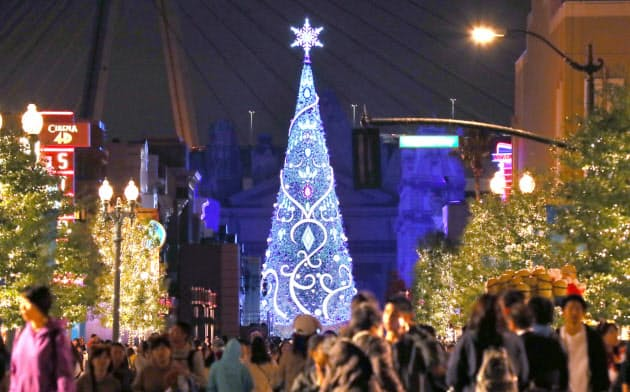 USJ、クリスマスイベント 10年ぶり刷新